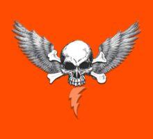 Skull Wings & Bolt by TheStunner