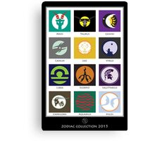 Horoscope Collection 2015  Canvas Print