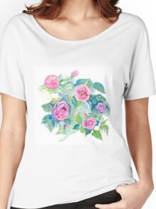 Roses1 (p) Women's Relaxed Fit T-Shirt