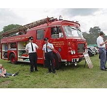 Old fire engine  Photographic Print