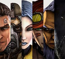 BOrderlands 2 Characters =2 by S4beR