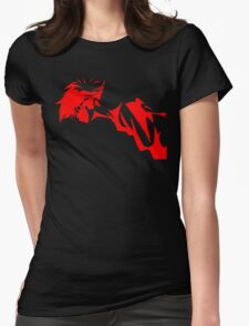 Cowboy Bebop - ED Womens Fitted T-Shirt