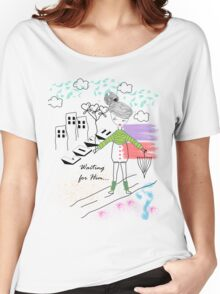 Her Doodle Love Women's Relaxed Fit T-Shirt