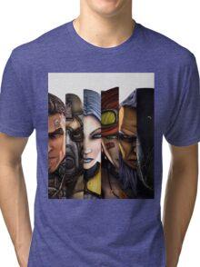 BOrderlands 2 Characters =2 Tri-blend T-Shirt