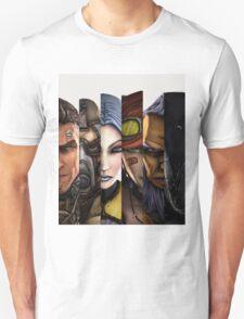BOrderlands 2 Characters =2 Unisex T-Shirt
