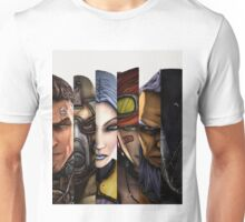 BOrderlands 2 Characters =2 Unisex T-Shirt