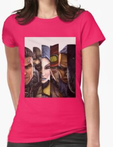 BOrderlands 2 Characters =2 Womens Fitted T-Shirt