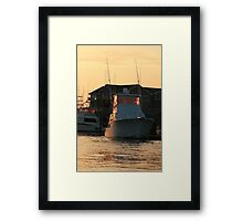 Just Another Day Gone By Framed Print