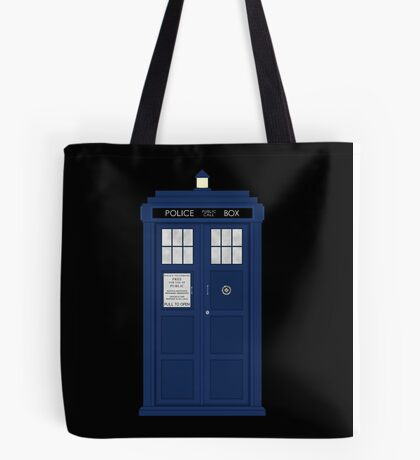 Doctor Who's Tardis Tote Bag