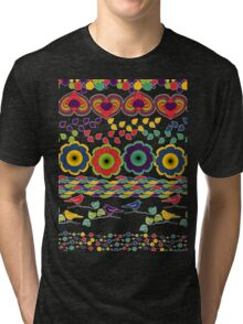 Nature in Patterns Tri-blend T-Shirt