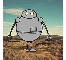 Robots need to run free Photographic Print