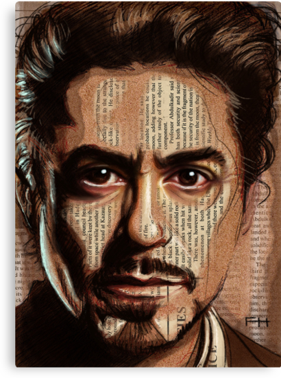 Robert Downey jr by Fay Helfer