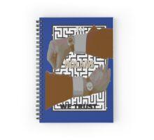 In Nolans We Trust version 5 with maze Spiral Notebook