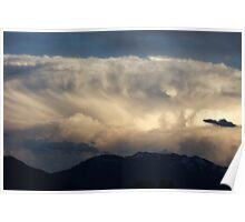 Tidal Wave in the Sky ~ Cloud Formation Poster