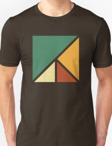 Colourful, Simple Geometric Design T-Shirt