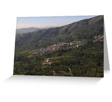 Nilgiri Hills, Resort,  Greeting Card