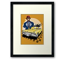 B.D.Joe Framed Print