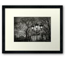 Lampadaire (2) Framed Print