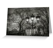 Lampadaire (2) Greeting Card