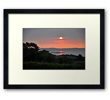Kerry Sunset 2 Framed Print