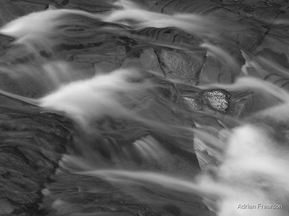 Creamy water by Adrian Frearson