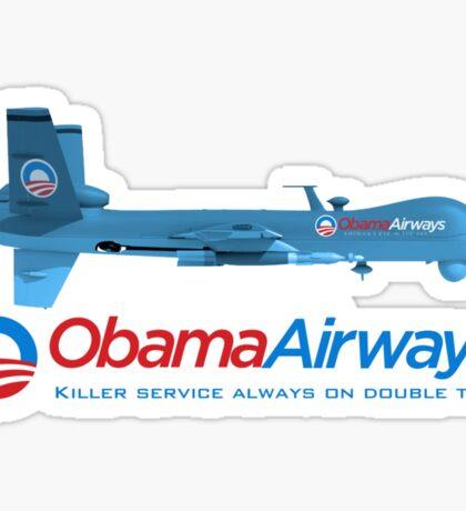 Obama Airways Sticker