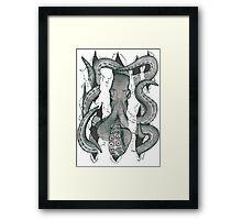 Der Krake Framed Print