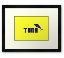 Tuna Fish Sport Framed Print
