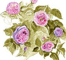Roses 4 by Mariya Kolesnyk