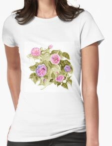 Roses 4 Womens Fitted T-Shirt