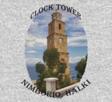 Halki Clock Tower Baby Tee