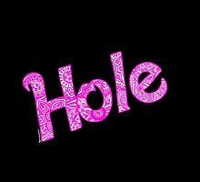 Hole Zentangle Drawing by Artdanicabrera