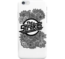 The Strokes Zentangle Logo iPhone Case/Skin