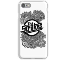 The Strokes Zentangle Logo iPhone Case/Skin
