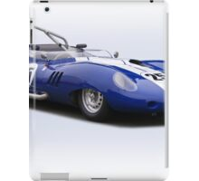 1959 Lister Costin Racecar iPad Case/Skin