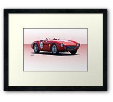 1954 Ferrari Mondial Racecar Framed Print