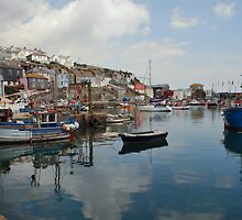 Mevagissey Reflections by Paul Gibbons