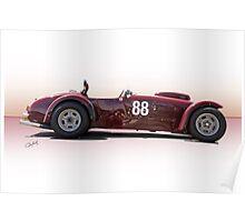 1953 Kurtis 500S Racecar Poster