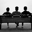 A moment of silence for friendship by Hassan Khan