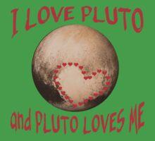 PLUTO Love! I love Pluto One Piece - Short Sleeve