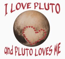 PLUTO Love! I love Pluto One Piece - Short Sleeve