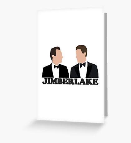 Jimberlake Greeting Card