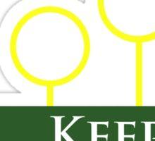 Quidditch Keeper Sticker