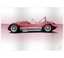 1960 Witton Special Racecar Poster