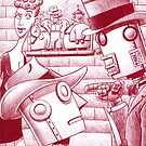 Robot Godfather by Mike Cressy
