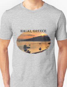 Halki Sunrise (version 1) Unisex T-Shirt
