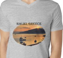 Halki Sunrise (version 1) Mens V-Neck T-Shirt
