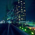 Tokyo night (2) by Laurent Hunziker