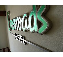 crossroads motel Photographic Print
