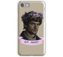 Hannibal - Go Away iPhone Case/Skin